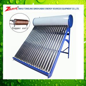 China Suntask Pressure vacuum tube solar collector and solar water heater system on sale