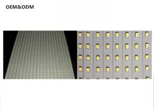 China 3.28ft SMD 5630 Rigid Led Light Bar Aluminum PCB IP20 Non Waterproof 1 Meters DC 12V on sale