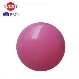 China Extra Thick 55cm Yoga Ball , Pregnancy Birthing Ball With Pump Explosion Resistant on sale