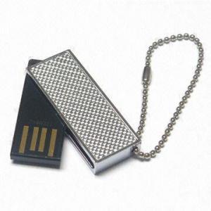 China 512MB, 1GB, 2GB Mini  Smallest USB Flash Drive disk with a twister metal cap AT-301K on sale
