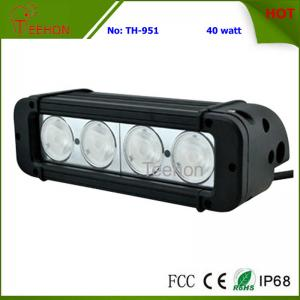 China 40 Watt 8 Inch Single-Row CREE LED Light Bar SXS Light bar for 4X4 off-Road Vehicles on sale