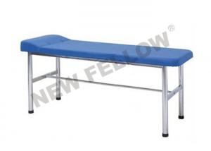 China Flat Stainless Steel Medical Exam Tables Hospital Examination Bed With Paper Roll on sale