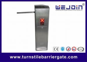 China 220V/110V Tripod Turnstile Gate Indoor Barrier Entrance Control 25-32 Persons / Min on sale