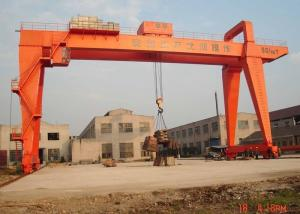 China 100 Ton A Frame Double Girder Gantry Crane Heavy Duty For Big Tonnage Port on sale
