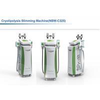 China 5 Handles Cryolipolysis Fat Freezing Machine , Multifunctional Cavitation RF Cryolipolysis Machine on sale