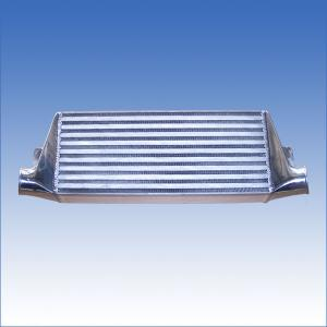 China Brazed Aluminum Finned Tube Heat Exchanger Automobile Intercooler  on sale