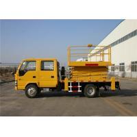 High Speed 22M Telescopic Aerial Work Platform Truck 4x2 Drive