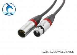 China DIY DZ277 Pro Audio XLR Cable 3 Pin Male Female Wire Connector Male To Female Gender on sale