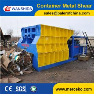 China Customized Automatic Container Scrap Shear box shear for propane tank gas tank manufacture price supplier