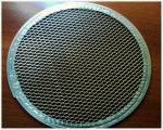 China Food Grade Stainless Steel Crimped Wire Mesh Barbecue Grill Net 30m Lehgth wholesale