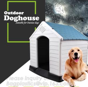 China Different plastic dog house/ pet kennel/garden house for dog, Eco Friendly Plastic Dog House/Durable Cat Plastic House on sale