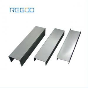 Anodized Aluminium Channel Extrusions Architectural Aluminum