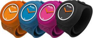 China Silicone Watch / Fashion Waterproof Silicone Bracelet Slap Quartz Wrist Watch on sale