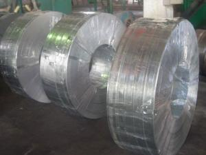 China Grade 50, 490, SGC, Q195, SGCC, SGCD spangle Hot Dipped Galvanized Steel Strip / Strips on sale