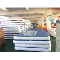 Customized Size Inflatable Air Track Gymnastics Mat / Air Track Tumbling Mat