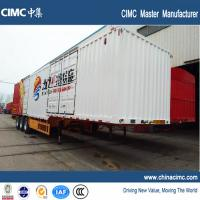 China CIMC tri-axle 48ft dry van trailer 50 tons on sale