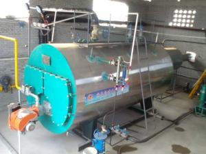 China WNS 2tph Heavy Oil Steam Boiler Horizontal For Greenhouse Heating System on sale
