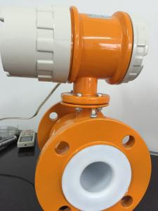 China Oil Industry Electromagnetic Flow Measurement , Industrial Flow Meter on sale