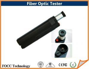 China White Led Light Fiber Optic Tester , Fiber Inspection Microscope 400 Zoom Times on sale