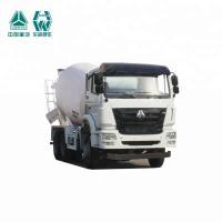 Germany Technology Cement Bulk Carrier Truck , Cement Mixer Trailer 336HP/248KW