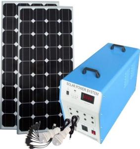 China Environmental Friendly Home Solar Power System High Capacity Battery Safe High Grade on sale