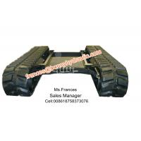 Retractable rubber crawler chasis(track undercarriage)