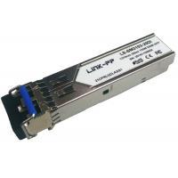 155Mbps SFP Transceiver Single Mode 20km Reach 1310nm Industrial Tepm