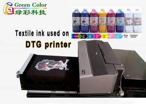 China Direct Printing Dark Cotton t Shirt Water Based Pigment Ink For Dtg Printer on sale