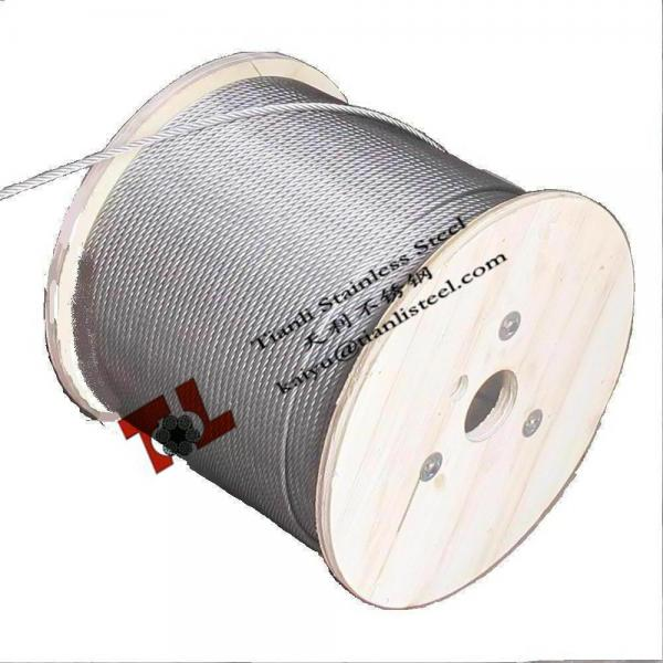 Stainless Steel Wire Rope 304 316 A2 A4 1.4301 1.4401 7x7 1mm for ...
