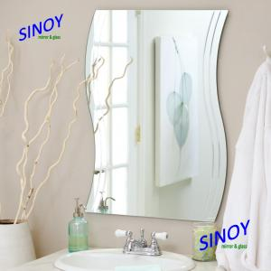 Different Shaped Mirrors waterproof unframed bathroom glass mirror in different shapes and