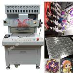 12 colors pvc keychain making machine, keychain dispensing machine