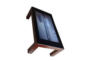 China Commercial Smart Coffee Table Touchscreen Computer 55 Inch 450 Nits Brightness on sale