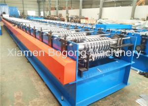 China High Efficiency Sheet Metal Forming Machine , Metal Roof Panel Machine Large Load Capacity on sale