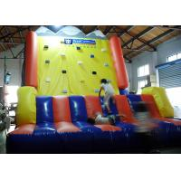 China Kids Outdoor Rocky Climbing Inflated Fun Games 10X10X10m Or Customized Size on sale
