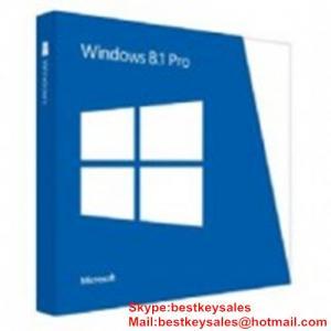 Quality Microsoft Windows 8.1 Professional FPP KEY, Original online activation key code for sale
