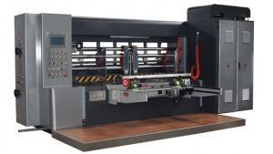 China PLC Control Printer Slotter Machine For Corrugated Carton Box Printing on sale