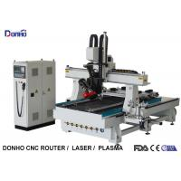 HSD Spindle Servo Motor 4 Axis CNC Router Machine With 300 Degree Swing Spindle Head