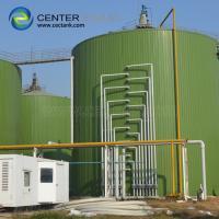 Bolted Steel Dry Bulk Grain Storage Silos Impact Resistance 2 Years Warranty