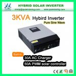 3KVA Hybrid Solar Power Inverter with 50A Charge Controller (QW-3kVA 2450)