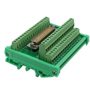 DB50 Male socket D Sub terminal block breakout board adapter cable