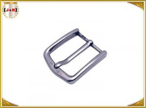 Quality Custom Gorgeous Metal Belt Buckle For Men / Women Reversible Square Shape for sale