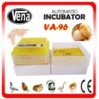 Hot sale full automatic mini egg incubator/chicken egg incubator for 96 eggs VA-96