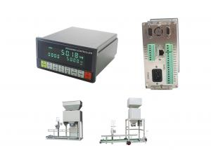 China EMC Design Bagging Controller , Electronic Weighing Indicator Fall Value Auto Correction on sale