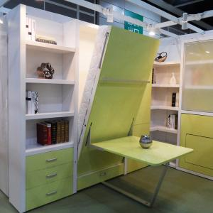 ... Quality Kids Modern Design Vertical Wall Beds Eco Friendly With Study  Table For Sale ...