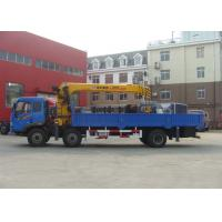 Economical Safety Telescopic Boom Truck Crane For Telecommunications Facilities