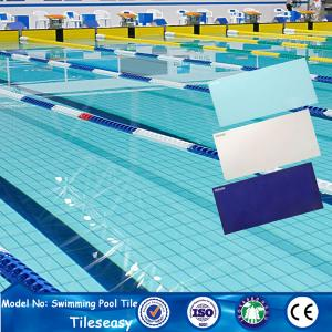 Quality Discontinued Standard Ceramic Pool Tile Prices For Olympic Pools Sale