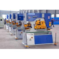 Q35Y Series Hydraulic Metal Plate Ironworker Punching And Notching With 90 Ton Press