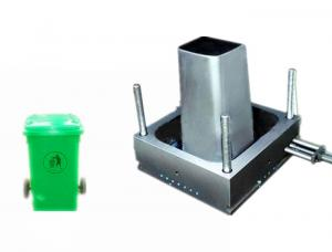 China Single Cavity Home Appliance Plastic Bucket Mould For Outdoors Dustbin on sale