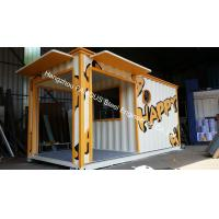 Sandwich panel knock down practical 20ft container house for living house