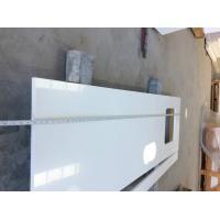 Fine Grain Quartz Bathroom Vanity Tops Solid Surface Kitchen Countertop Materials